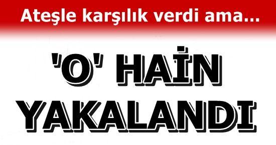'O' PKK'LI TERÖRİST ELE GEÇİRİLDİ