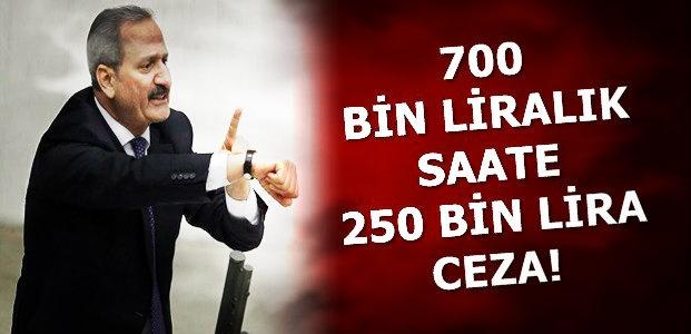 O SAATE 250 BİN LİRA CEZA...