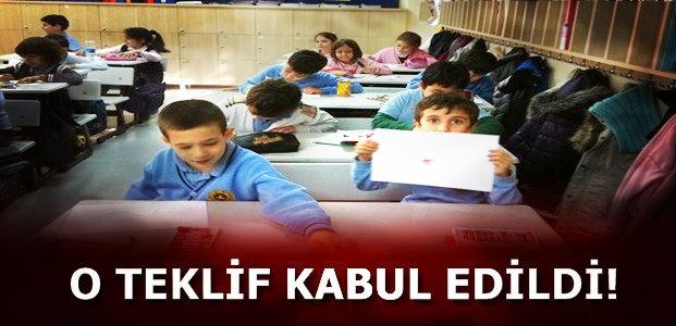 O TEKLİF KABUL EDİLDİ!