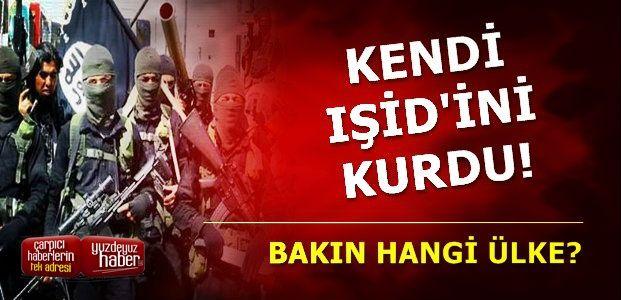 O ÜLKE İKİNCİ IŞİD'İ KURDU!