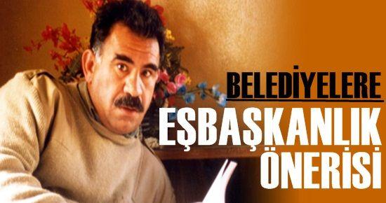 ÖCALAN'DAN EŞBAŞKANLIK ÖNERİSİ!
