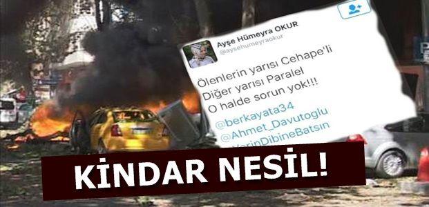 'ÖLENLER CHP'Lİ.. O HALDE SORUN YOK'