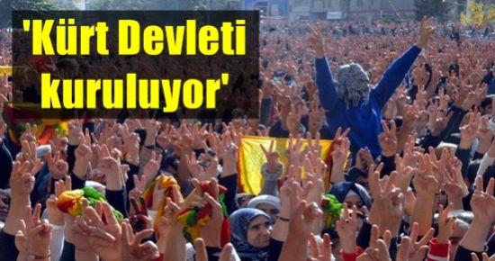 'ORTADOĞU'DA KÜRT DEVLETİ KURULUYOR...'