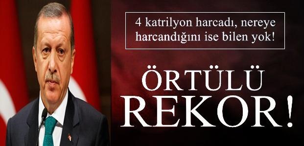 ÖRTÜLÜ REKOR!