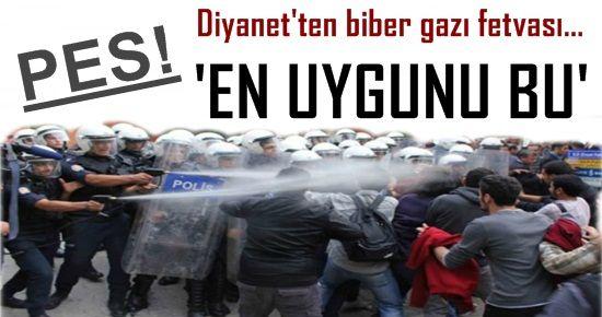 PES! DİYANET POLİSE ARKA ÇIKTI!
