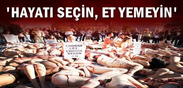 'PETA'DAN ANLAMLI EYLEM...