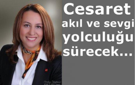 PINAR SUSMUŞ, YOLA 'DEVAM' DEDİ