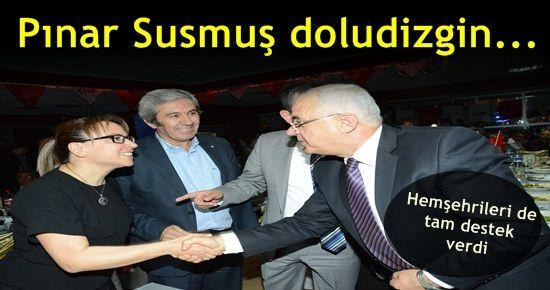 PINAR SUSMUŞ'A HEMŞEHRİLERİNDEN TAM DESTEK...