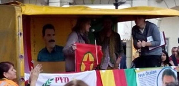 PKK BAYRAĞI DOKUNULMAZLIĞINI KALDIRTTI