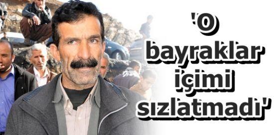 PKK BAYRAKLARI İÇİNİ SIZLATMAMIŞ!