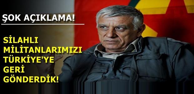 PKK'DAN ŞOK AÇIKLAMA!
