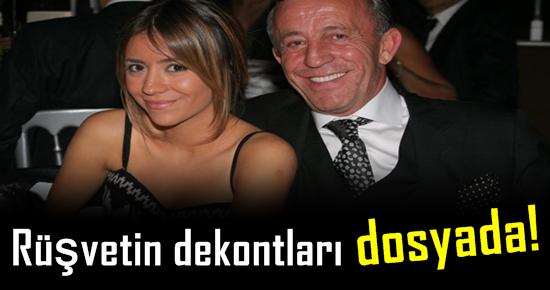 RÜŞVETİN DEKONTLARI 'DOSYADA'!