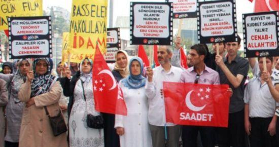 SAADET PARTİSİ'NDEN HAKARET FİLMİNE TEPKİ