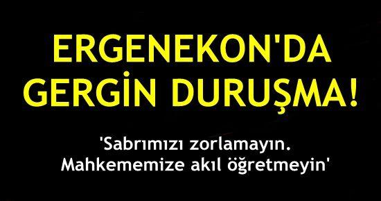 'SABRIMIZI ZORLAMAYIN, BİZE AKIL ÖĞRETMEYİN'