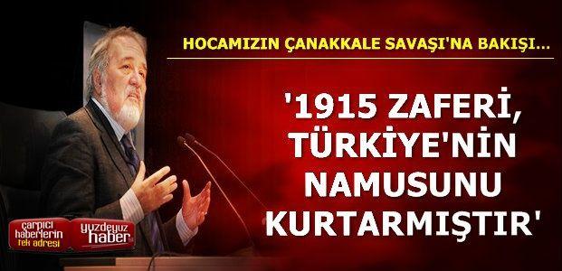 'SADECE VATAN VE BAŞKENT KURTULMADI'