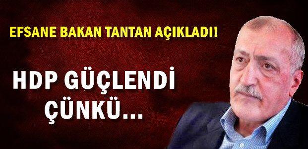 SADETTİN TANTAN'A GÖRE SEÇİM 2015...