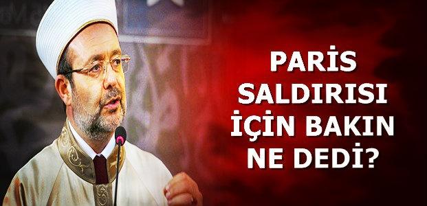 SALDIRI İÇİN KONUŞTU...
