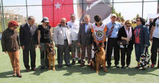 ŞAMPİYON KÖPEKLER VİLLAKENT'TE