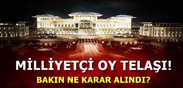 SARAY PANİKTE!