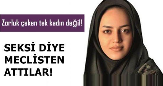 SEKSİ DİYE MECLİSTEN ATTILAR!