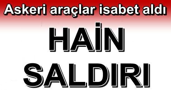 ŞEMDİNLİ'DE PATLAMA...