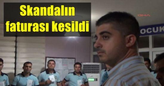 SKANDALIN FATURASI KESİLDİ