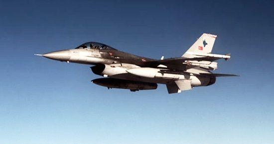 SURİYE'DEN F-16'LARA TACİZ...