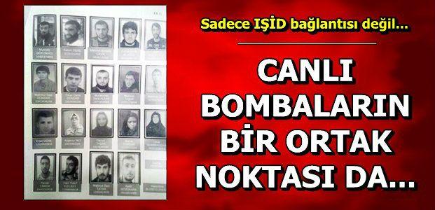 TEK BAĞLANTI IŞİD DEĞİL...