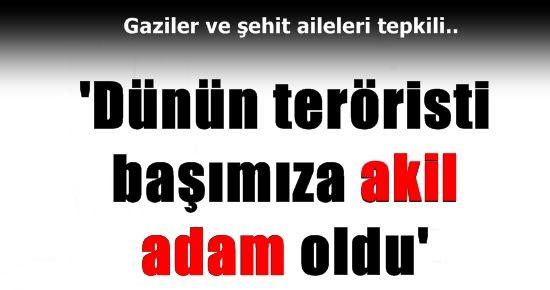 'TERÖRİSTLER BAŞIMIZA AKİL ADAM OLDU'