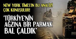 'TÜRKİYE'NİN AĞZINA BİR PARMAK BAL ÇALDIK'