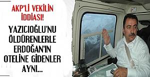 AKP'Lİ VEKİLDEN ÇARPICI İDDİA!