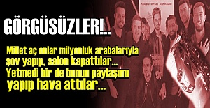 GÖRGÜSÜZLÜĞÜN FOTOĞRAFI!..