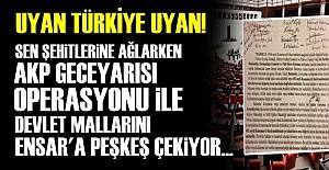 AKP#039;DEN GECEYARISI OPERASYONU!..