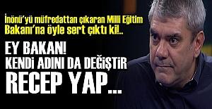AMCAOĞLUNUN SÖZLERİYLE VURDU!..