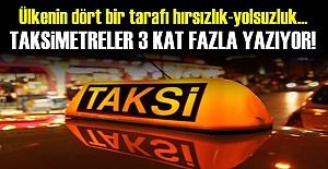 BU DA TAKSİCİ VURGUNU!..