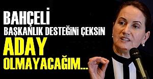 quot;DESTEĞİNİ ÇEK, SÖZ ADAY...