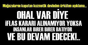 'EKONOMİ FELAKETİNİ YAŞIYOR...'