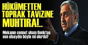 TEK BAŞINA TOPRAK TAVİZİ!..
