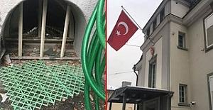 ZÜRİH BAŞKONSOLOSLUĞUNA SALDIRI...