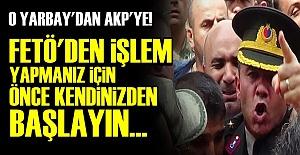 AKP'YE SERT SÖZLER!..