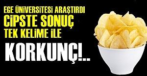 CİPSTE KORKUNÇ SONUÇ!..