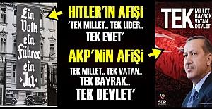 'EVET'ÇİLERİN AFİŞİ ŞOKE ETTİ!..