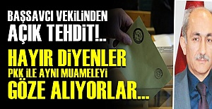 MİLLETİ TEHDİT ETTİ!..