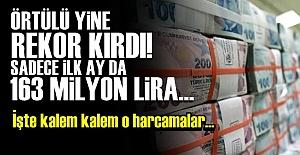 YAŞASIN ÖRTÜLÜ ÖDENEK!..