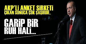 AKP'Lİ ANKET ŞİRKETİNİ ŞOKE EDEN SONUÇ!