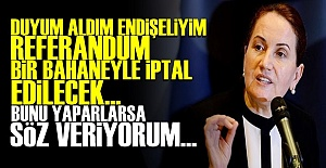 #039;DUYUM ALDIM, ENDİŞELİYİM...#039;
