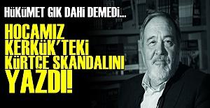 İŞTE KERKÜK'TEKİ KÜRTÇE SKANDALI!