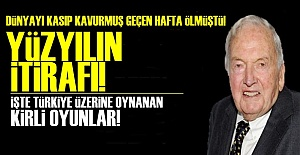 YÜZYILIN İTİRAFI!