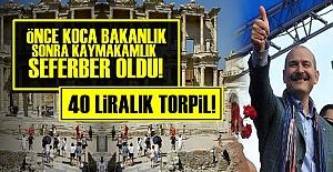 40 LİRALIK 'BAKAN' TORPİLİ...