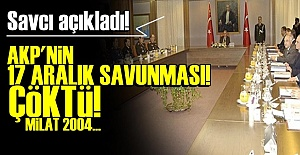 AKP'NİN 17 ARALIK SAVUNMASI ÇÖKTÜ!